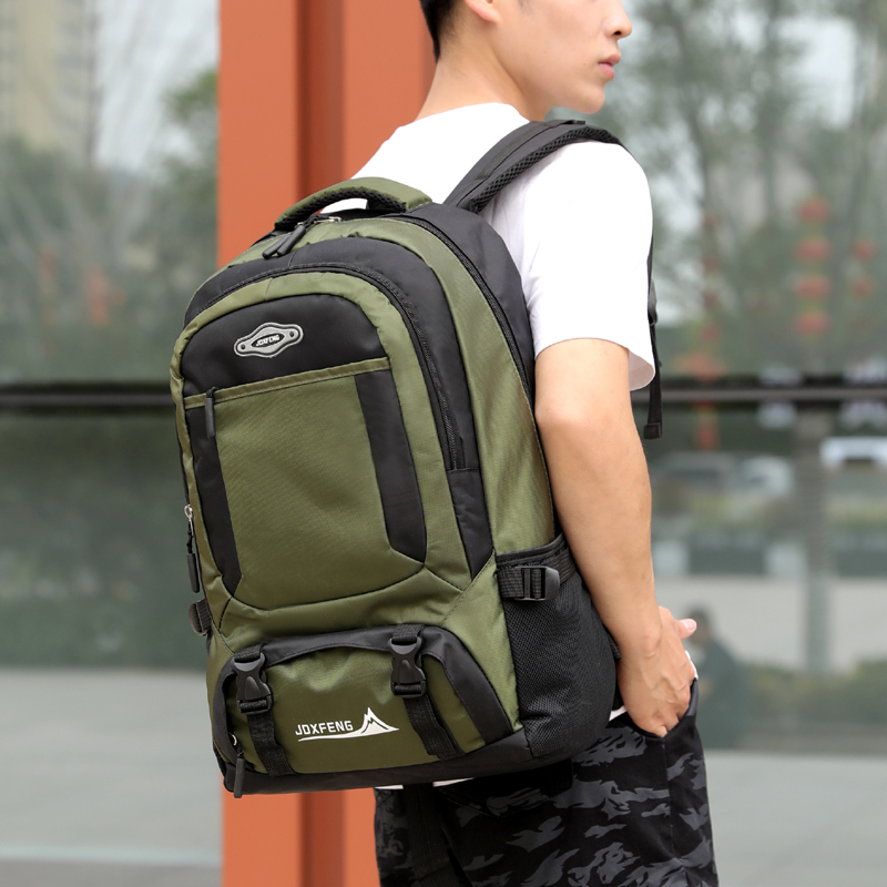 Large-capacity-nylon-travel-backpack-outdoor-climbing